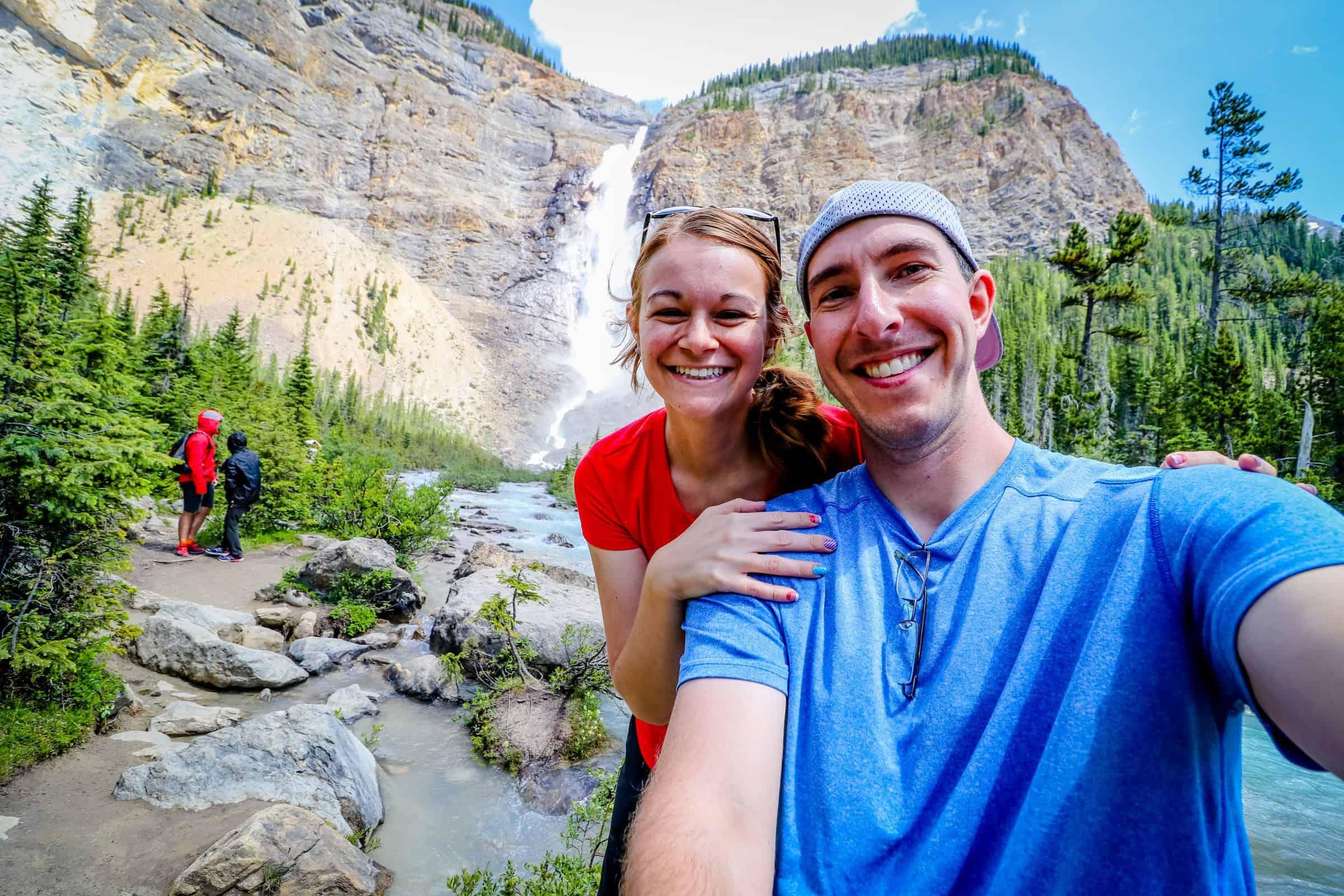 Takakkaw-Falls-Selfie-Yoho-National-Park-Canada-HH-1757